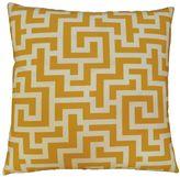 Edie inc. Edie, Inc. Keys Outdoor Throw Pillow