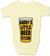 BANG TIDY CLOTHING Baby Boy's Daddy's Little Beer Fetcher Baby Grow Bodysuit 6-12M