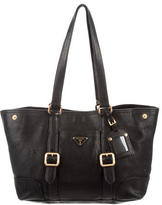 Prada Medium Leather Tote