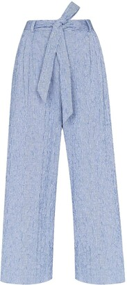 By Any Other Name Tie-Waist Wide Leg Trousers