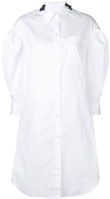 Simone Rocha shirt midi dress