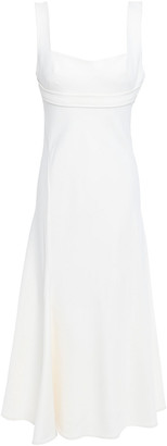 Victoria Beckham Fluted Stretch-cady Dress