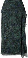 Jason Wu draped ruffle skirt - women - Silk - 4