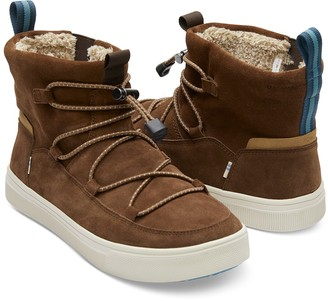 Toms Travel Lite Alpine Water Resistant Faux Shearling Lined Boot