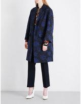Dries Van Noten Rodel jacquard coat