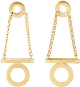 Whistles Made Circle And Bar Earring