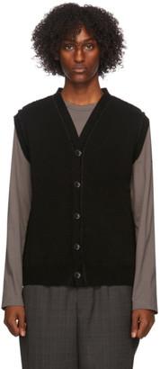 Comme des Garçons Homme Deux Black Lochaven Of Scotland Edition Vest