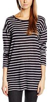 Gestuz Women's Mag Striped Long Sleeve Tops
