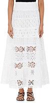 Temptation Positano Women's Orlogio Maxi Skirt-WHITE