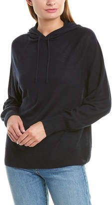 Vince Boxy Wool & Cashmere-Blend Hoodie