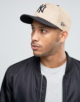 New Era 59fifty Ny Yankees Fitted Cap In Melton Wool