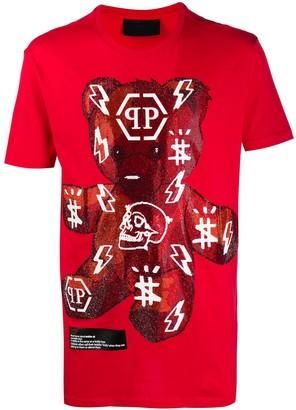 Philipp Plein SS Teddy Bear cotton T-shirt