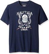Nautica Men's Deep Sea Commander Graphic T-Shirt