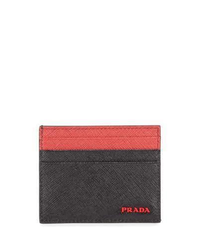 fb6e76b149bb Mens Prada Card Case - ShopStyle