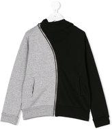 Nununu color block hoodie