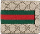 Gucci Web GG Supreme wallet - men - Calf Leather - One Size