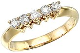 Direct-Jewelry 14k Yellow Gold 0.33 Ct Diamond Wrap Band (Size 8.5)