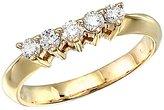Direct-Jewelry 14k Yellow Gold 0.33 Ct Diamond Wrap Band (Size 9)
