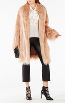 BCBGMAXAZRIA Waris Faux-Shearling Coat