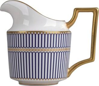 Wedgwood Prestige Anthemion Blue Cream Jug