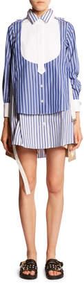 Sacai Oversized Mix-Striped Shirt