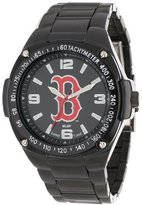 Game Time Unisex MLB-WAR-BOS Warrior Boston Red Sox Analog 3-Hand Watch