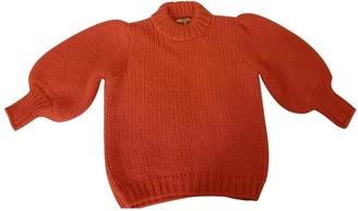 Ganni Fall Winter 2019 Pink Wool Knitwear for Women