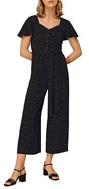 Whistles Micro Triangle Print Jumpsuit