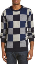 Scotch & Soda Intarsia Wool-Blend Crewneck Sweater