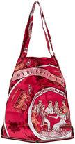 One Kings Lane Vintage Hermès Burgundy Silky Pop Bag