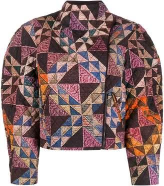 Isabel Marant patchwork quilted jacket