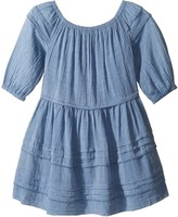 Polo Ralph Lauren Chambray Gauze Dress Girl's Dress