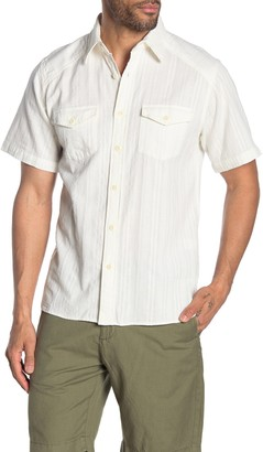 Frye Short Sleeve Addison Regular Fit Shirt