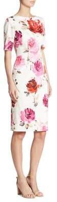 Lela Rose Claire Boatneck Dress