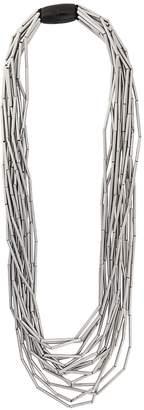 Monies Jewellery oversized multi-strand beaded necklace