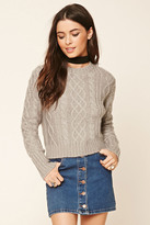 Forever 21 FOREVER 21+ Cable Knit Sweater