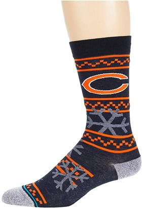 Stance NFL Frosted Chicago Bears (Navy) Crew Cut Socks Shoes