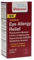 Walgreens Eye Drops Allergy Relief