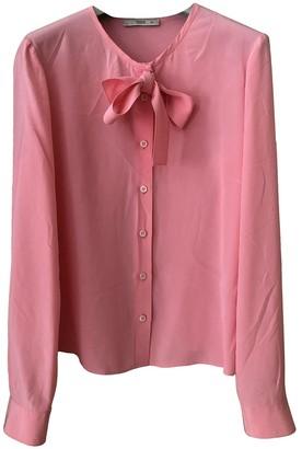 Prada Pink Silk Tops