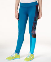 Energie Active Juniors' Colorblocked Mesh-Trim Leggings