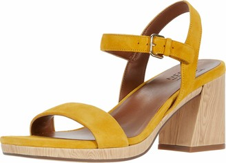 Naturalizer Womens Rose Bamboo Tan Ankle Straps 9.5 W