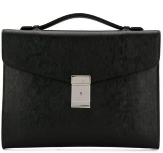 Church's Crawford engraved logo briefcase