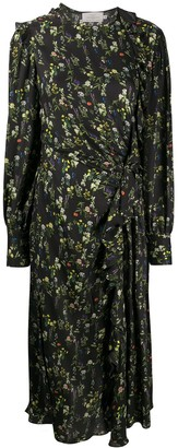 Preen by Thornton Bregazzi Nicola heritage floral print dress