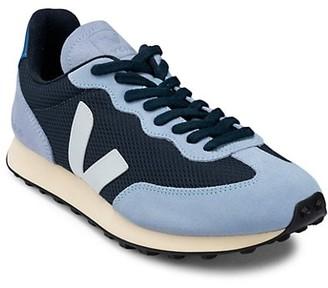 Veja Men's Rio Branco Colorblock Suede & Mesh Sneakers