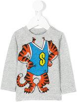 Stella McCartney tiger print top