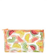 Forever 21 FOREVER 21+ Clear Watermelon Makeup Bag