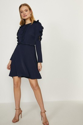 Coast Ruffle Long Sleeve Dress