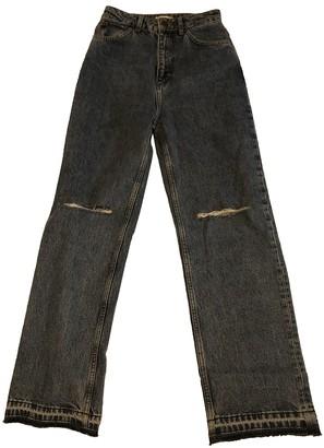 Sandro Fall Winter 2019 Blue Denim - Jeans Jeans for Women