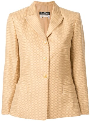 Salvatore Ferragamo Pre-Owned longsleeve jacket