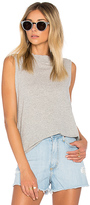 Nobody Denim Bank Tank in Gray